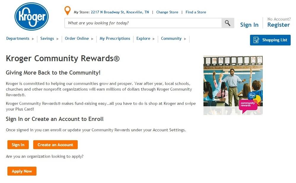 WDVX — Kroger Community Rewards Program supports WDVX